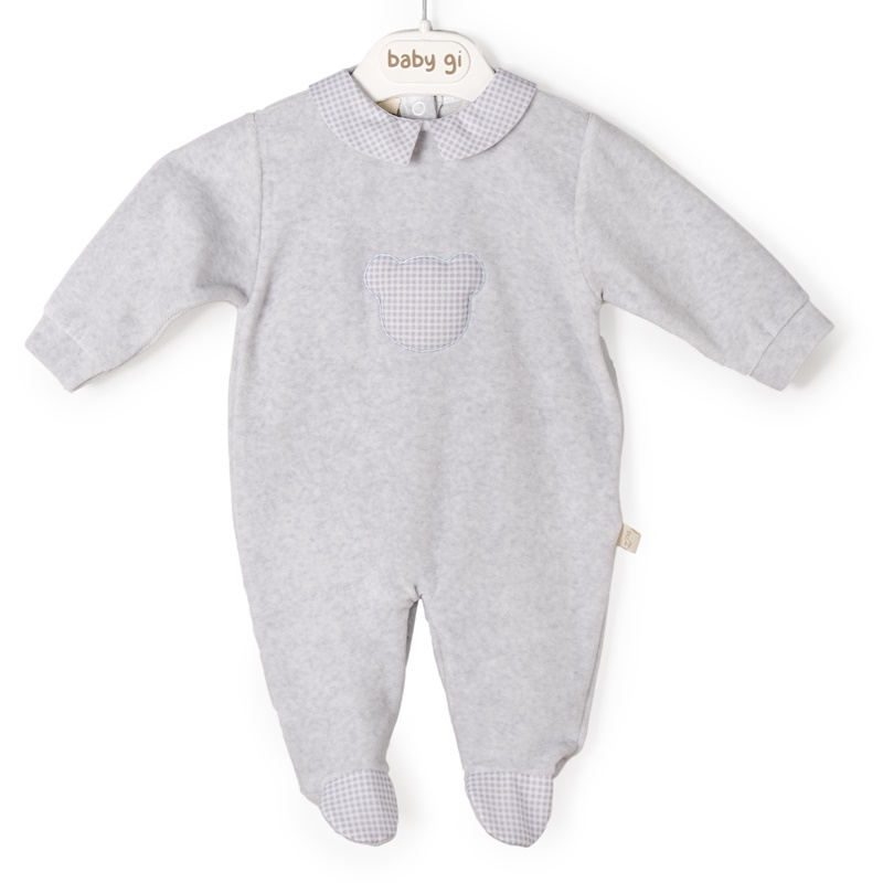 Babygrow Lam.Little Teddy Vichy