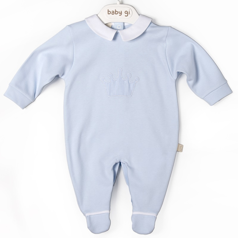 Babygrow Little Crown Azul