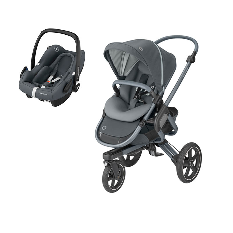 Duo Nova3 e Rock da Bebeconfort Essential Graphite