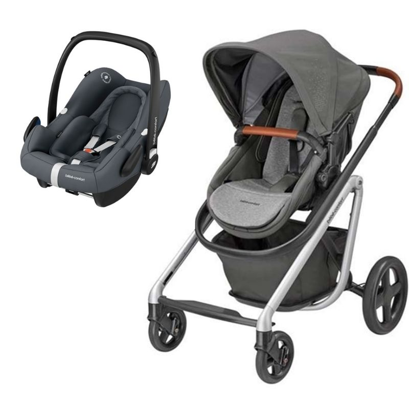Duo Rock  Essential Graphite da Bebeconfort e Lila Nomad Grey