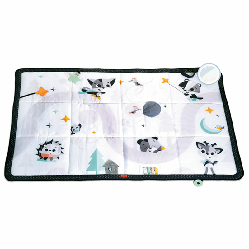 Tapete de atividades Black & White Super Mat Magical Tales da Tiny Love