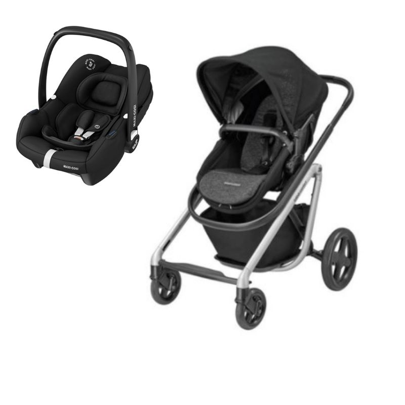 Duo Tinca Essential Black da Bebeconfort e Lila Nomad Black