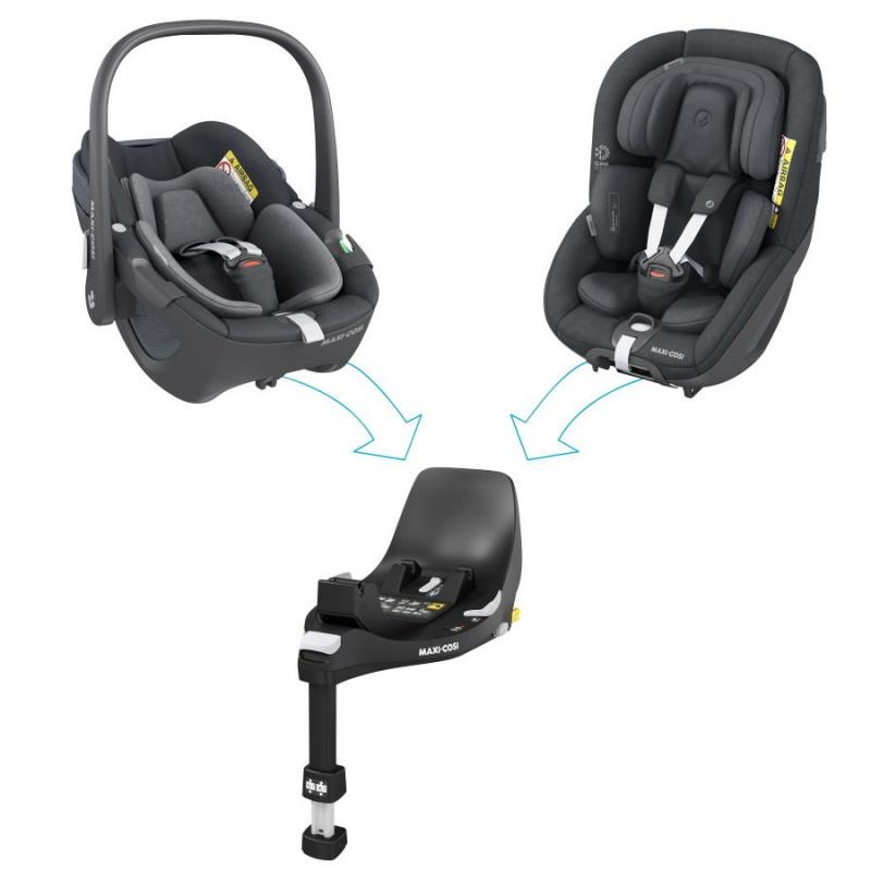 Cadeira auto Pebble 360º Essential Black da Maxi Cosi 5