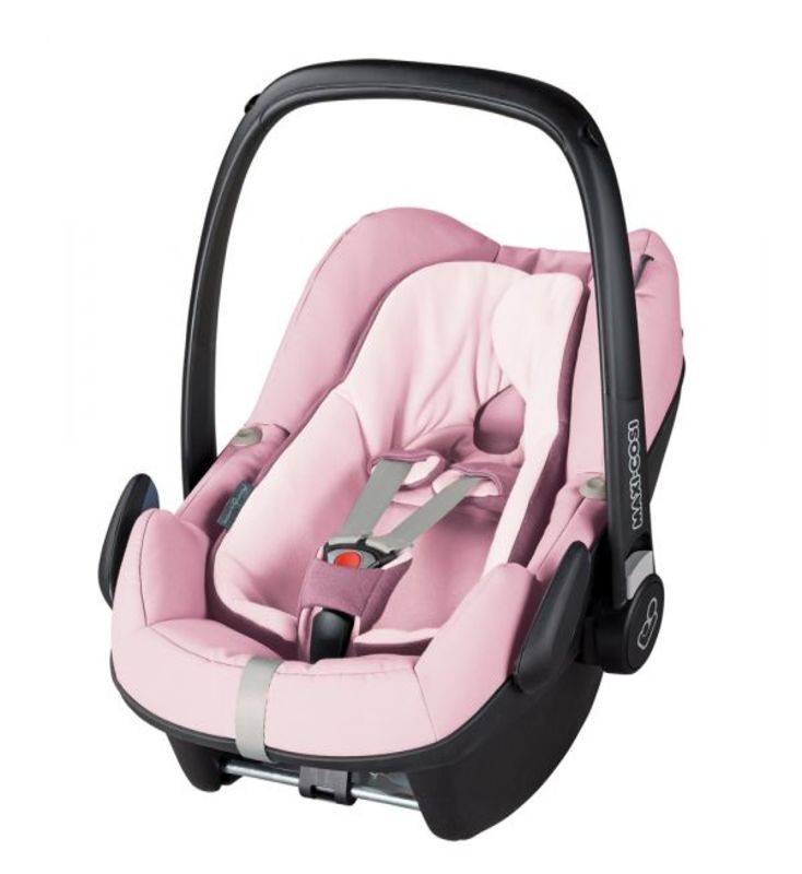 Cadeira Auto i-Size Pebble Plus da Maxi Cosi blush
