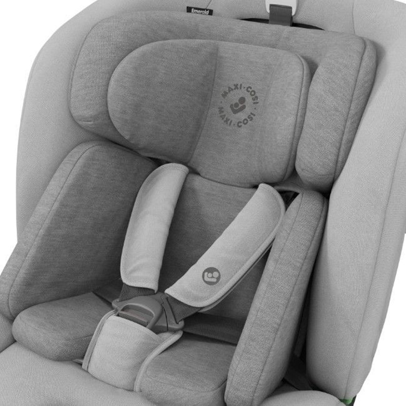 Cadeira Auto I-Size da Maxi Cosi Emerald Authentic Grey 4
